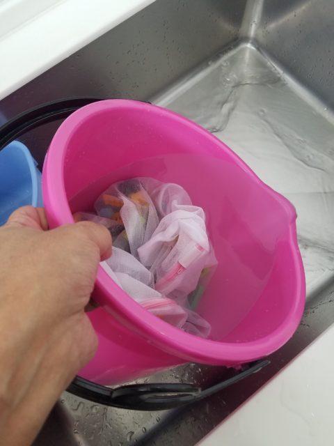 ブロックの洗い方4